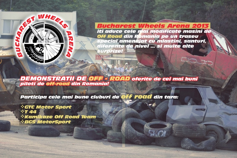 DEMONSTRATII DE OFF - ROAD oferite de cei mai buni piloti de off-road din Romania!